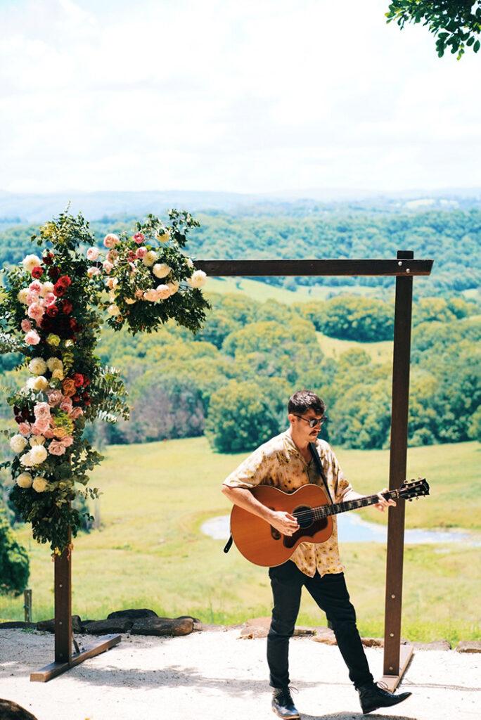 wedding music byron bay