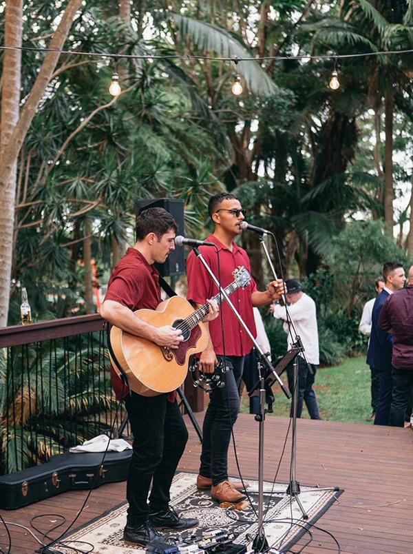 wedding musician byron bay